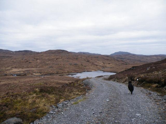 Loch na Feannaig from Hydro Track