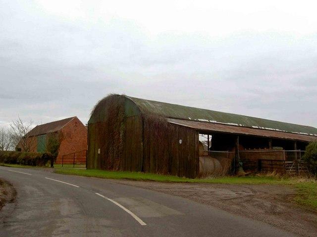 Barn on a bend near Stokeham