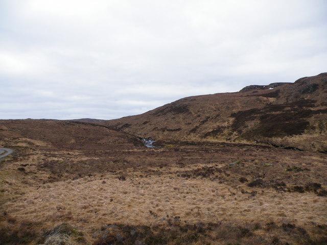 Allt Saigh coming down from Loch na Feannaig