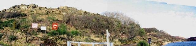 The SW slopes of Mynydd Parys