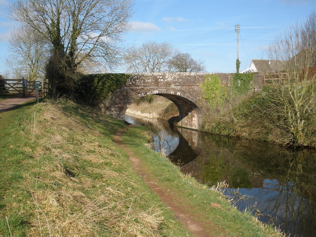 Crownhill Bridge, Grand Western Canal