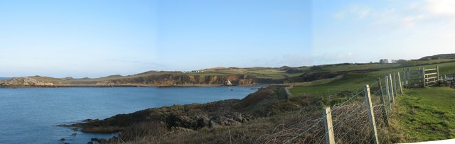 Porth Padrig from the Anglesey Coastal Path