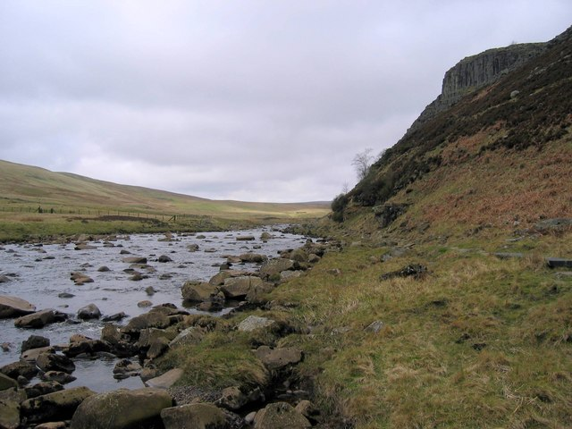 River Tees below Falcon Clints
