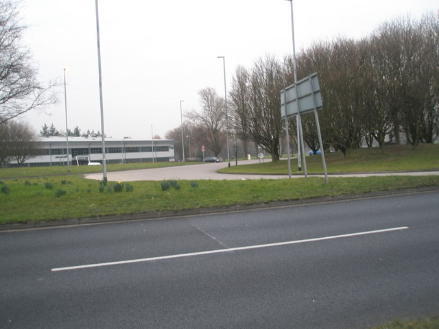 Roundabout in Western Road