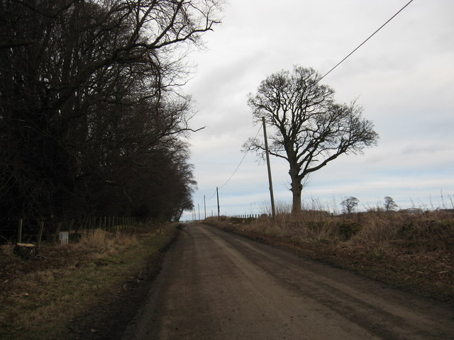 Heading for the A68