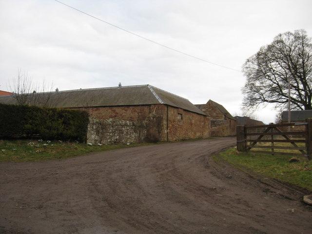 A scene at Crichton Mains Farm