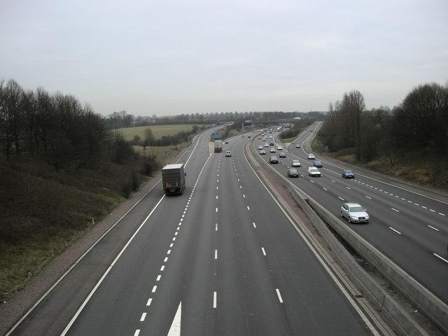 Lutterworth-M1 Motorway