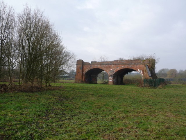 Blandford Forum: bridge to nowhere