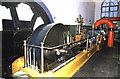 SD8634 : Mill engine, Queen Street Mill by Chris Allen