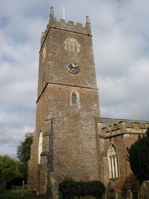 St Andrews Church tower, Halberton