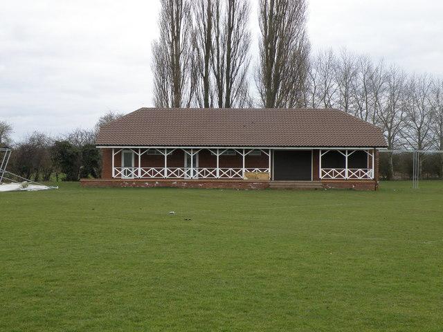 Cricket pavilion at Olney