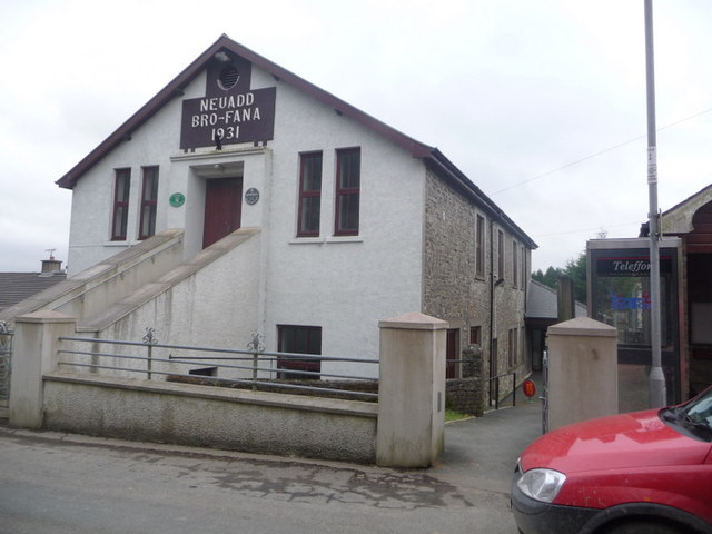 Ffarmers: the village hall
