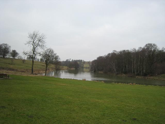 Lake at Staunton Harold