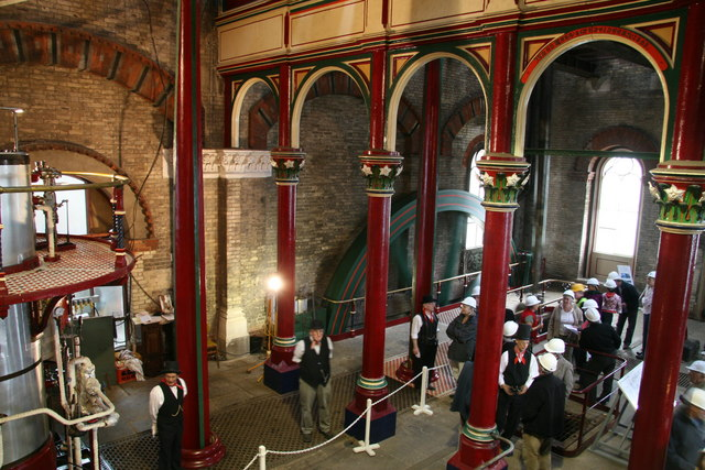 Beam engine, Crossness