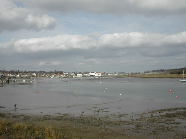 River Deben at Woodbridge