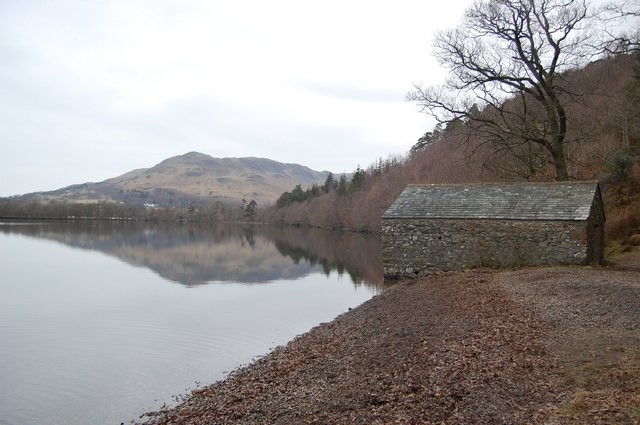 Boathouse by Crummock Water