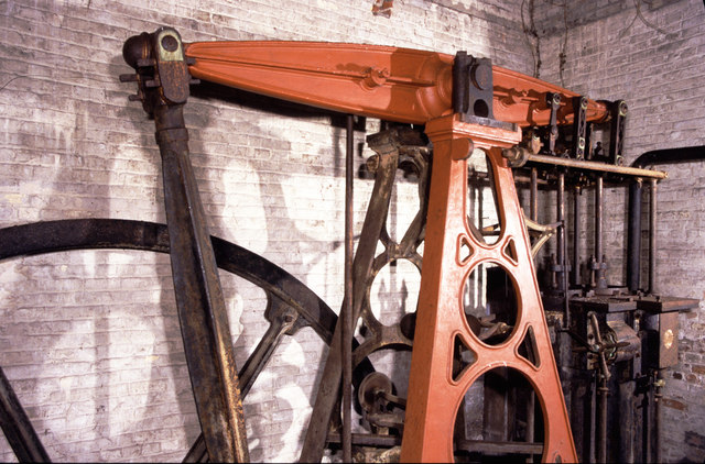 Beam engine, Beeleigh Mill