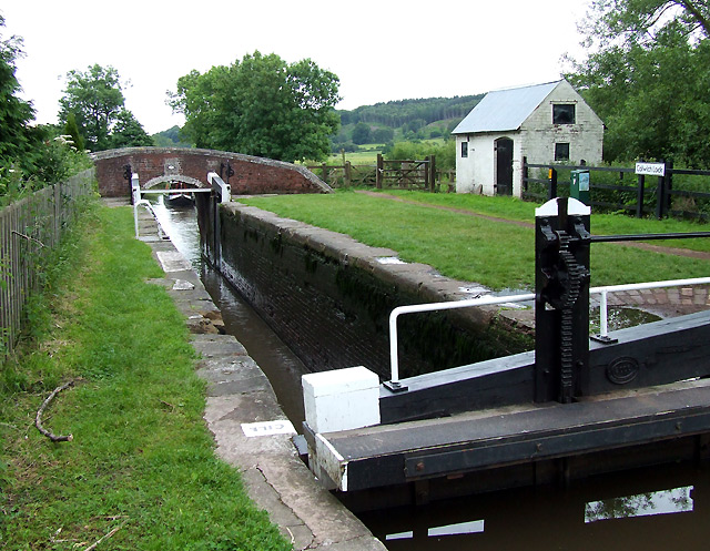 Colwich Lock No 21, Trent and Mersey Canal, Staffordshire