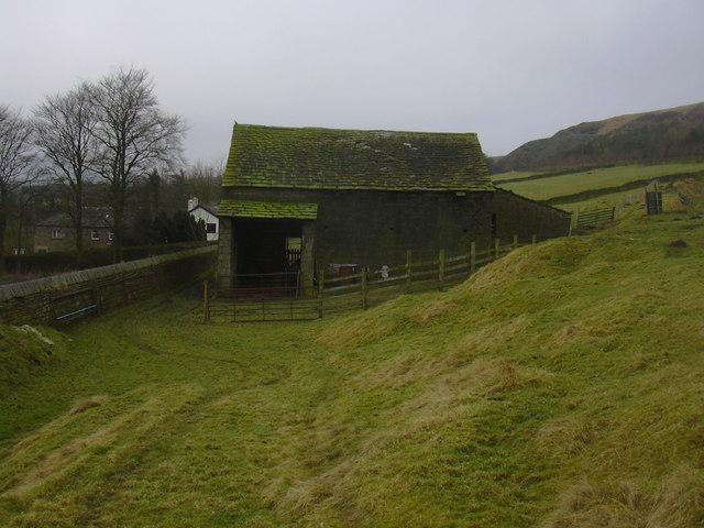 Abandoned Barn, Grane