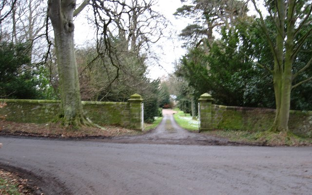 Entrance to house near Leaston