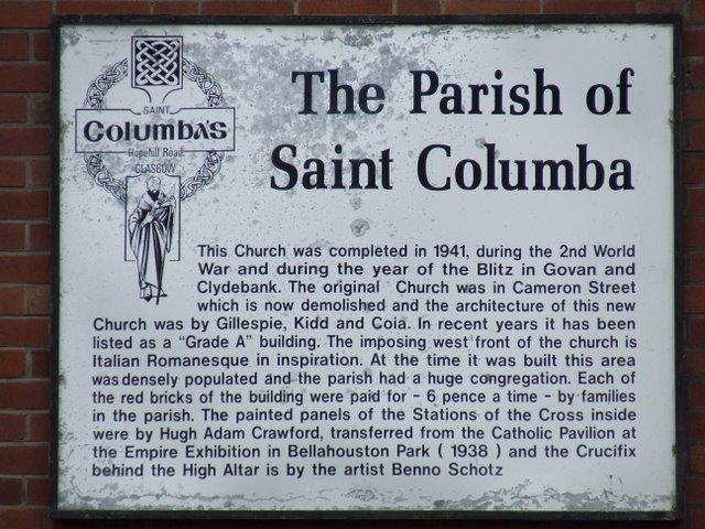 St Columba's RC Church