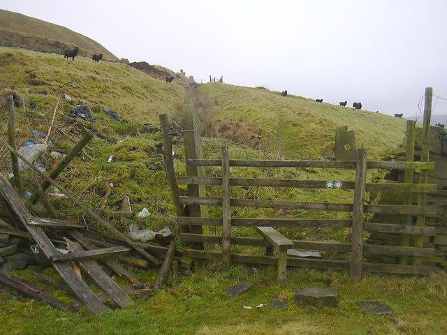 Footpath over Grane