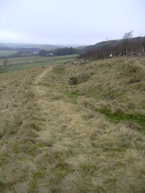 Footpath over Grane