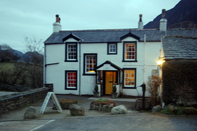 Evening at the Kirkstile Inn