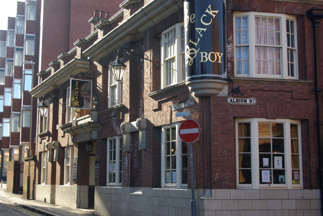 The Black Boy, Leicester