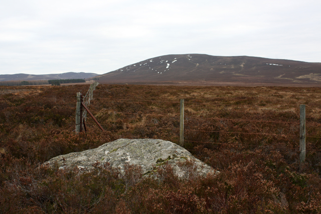 Corner of Fence on Cairn Eney