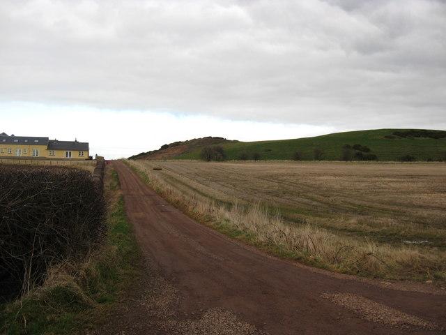 Track near Bangly Hill