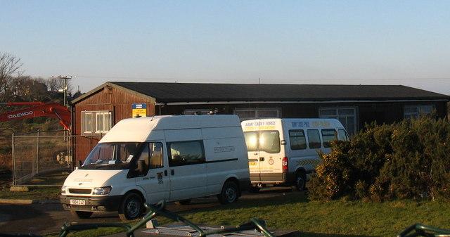 Headquarters of the Amlwch Detachment of the 6th Cadet Batt. Roy. Welsh (Gwynedd) ACF