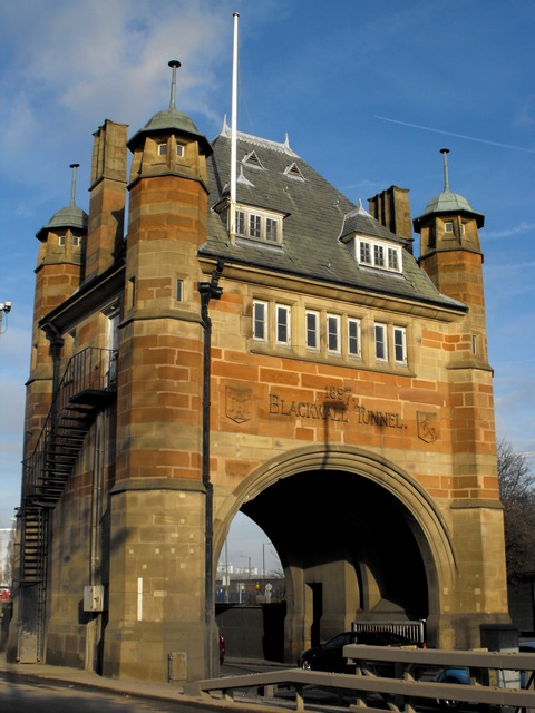 gateway to the Blackwall Tunnel  SE10