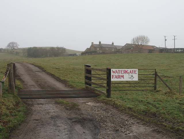 Entrance to Watergate Farm