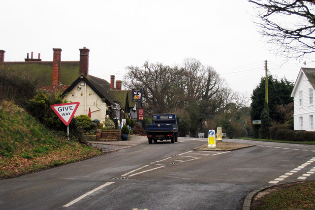 Junction of Iden Road & Rye Road