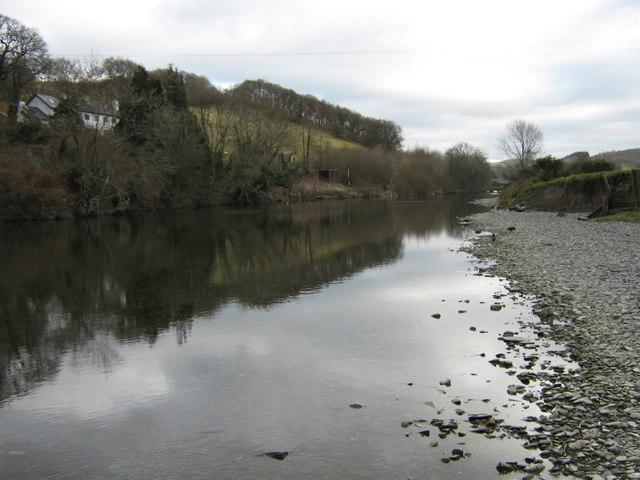 The Afon Dyfi