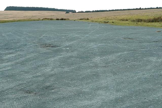Large expanse of tarmac