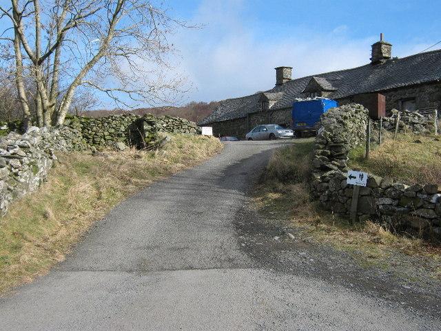 Bwlch-coch farm