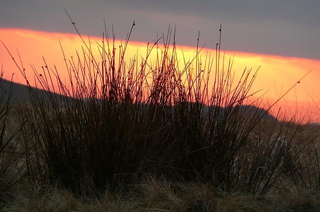 Sunset at Mynydd Bwlch-y-Groes