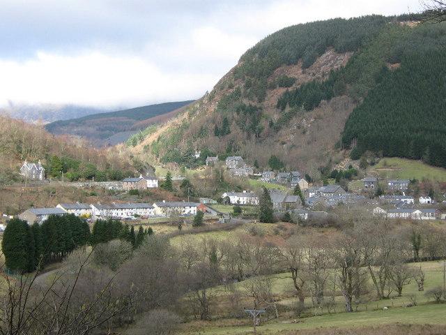 Corris village