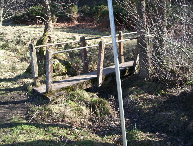 Little bridge at Bedburn