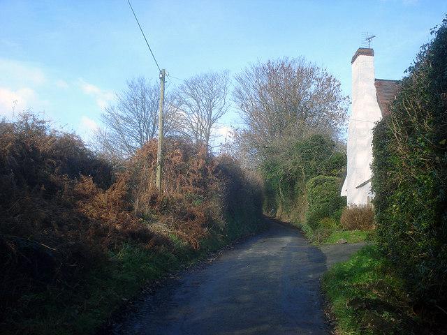 Cottage near Hill Farm