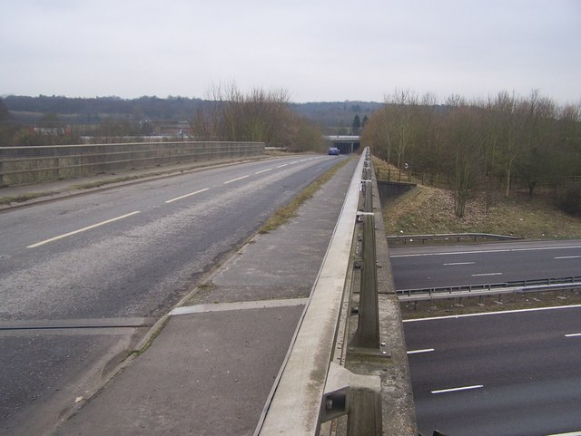 Ford Lane bridge over M20 Motorway