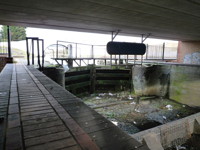 Dry lock at Bulls Bridge