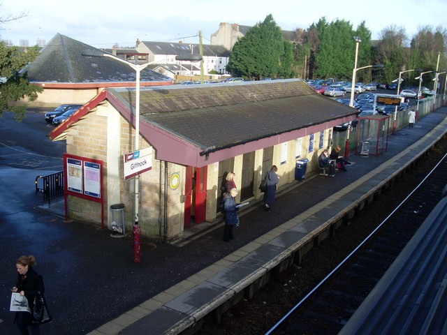 Giffnock Railway Station