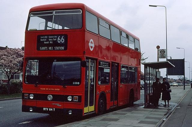 66 at Gants Hill