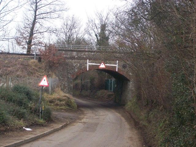 Rail Bridge over Church Road