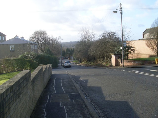 Looking south on Mansewood Road