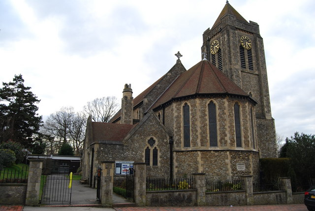 St Luke's Church, St Luke's Rd