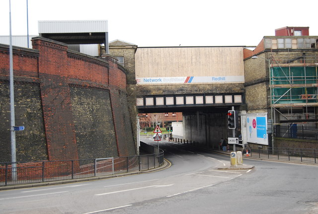 Railway bridge, Redhill Station
